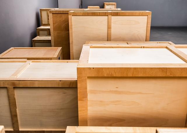 Drewniane skrzynie